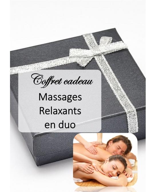 Massages relaxants en Duo