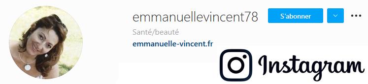 Retrouvez Emmanuelle Vincent sur Instagram